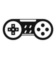 video game joystick icon simple style vector image