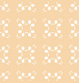 abstract geometric seamless pattern with flowers vector image