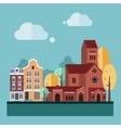 Flat Design Urban Landscape vector image vector image