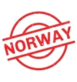 Norway rubber stamp vector image vector image