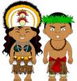 polynesia tahiti vector image vector image