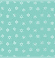 snowflakes winter christmas pattern seamless vector image
