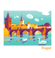 Prague Charles Bridge vector image