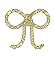 bow rope vector image vector image
