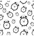 Clock Alarm Icon Seamless vector image