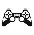 Game controller icon simple style