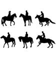 horsemen vector image vector image