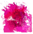 paint spot with splash in watercolour style vector image vector image