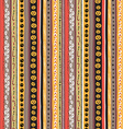 Seamless pattern Vintage Happy Halloween Flat vector image vector image