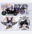 Speedroad rider vector image vector image