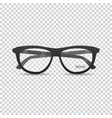 stylish retro eyeglasses vector image vector image