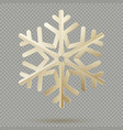 vintage christmas decoration paper snowflakes with vector image vector image