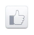 white like icon Eps10 Easy to edit vector image vector image