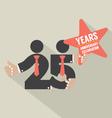 25 Years Anniversary Typography Design vector image vector image