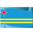 aruba national flag vector image