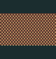 brown brick plastic texture repeat carbon block vector image vector image