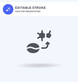 caffeine icon filled flat sign solid vector image vector image