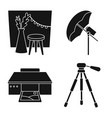 design business and hobbies icon vector image vector image