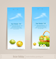 easter holiday set vector image