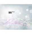 Futuristic Christmas Background vector image vector image