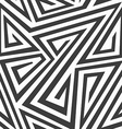 monochrome tribal seamless texture vector image