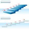 arrow upstairs vector image