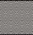 abstract geometric pattern with wavy lines vector image vector image