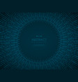 abstract technology circle blue gradient vector image