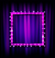 inema golden square frame vector image vector image