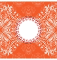 invitation card on seamless background vector image vector image