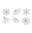 spider web cobweb icon doodle spiderweb vector image vector image