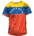 Venezuela tee vector image vector image