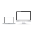 Computer screens vector image