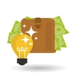 Money design Business icon Financial item vector image vector image