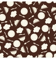Seamless retro kitchen pattern vector image vector image
