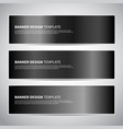 black shiny texture gradients templates set vector image vector image