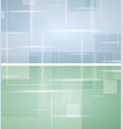 bright green and blue tech geometric backgrounds vector image vector image