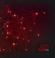 Laser Background vector image vector image
