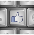 Like button - social media concept vector | Price: 1 Credit (USD $1)