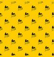 love cupid pattern vector image