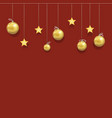 new year and christmas beautiful template vector image vector image