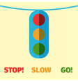 trafficlight vector image
