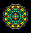 vintage mandala simple tattoo vector image