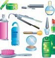 beauty and cosmetics vector image vector image
