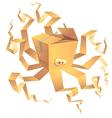 boxtopus vector image vector image