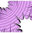 comic dynamic purple concept vector image vector image