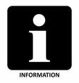 information symbol vector image
