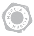 Murcia stamp rubber grunge vector image