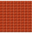 Red cartoon roofing roof tile seamless texture vector image