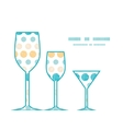 texture circles stripes abstract three wine vector image vector image